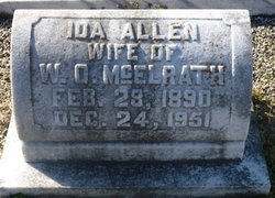 Ida <I>Allen</I> McElrath