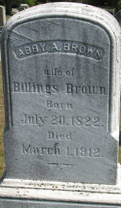 Abby A <I>Whiting</I> Brown