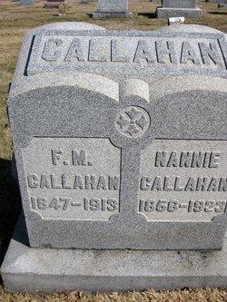 F M Callahan
