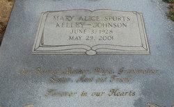 Mary Alice <I>Sports</I> Johnson