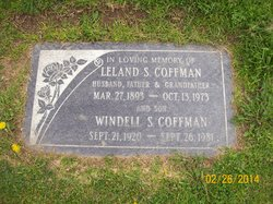 Windell Stanford Coffman