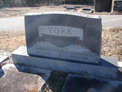 Annie Charles <I>Turner</I> York