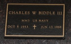 Charles W Biddle, III
