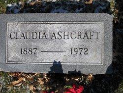 Claudia Ashcraft