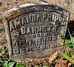 Amanda Melvina <I>Phipps</I> Barnett