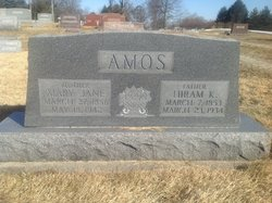 Mary Jane <I>Chambers</I> Amos