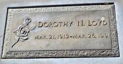 Dorothy N Loyd