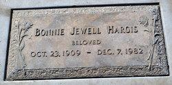 Bonnie Jewell <I>Martindale</I> Hargis