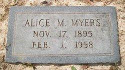 Alice May <I>Limerick</I> Myers