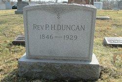 Rev Paschal Hickman Duncan