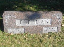 """Viola Elizabeth """"Betty V."""" <I>Hitch</I> Pittman"""