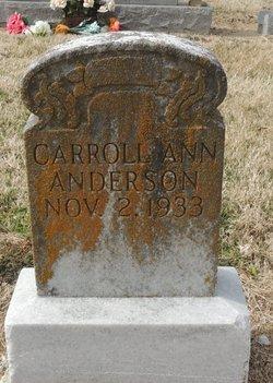 Carrol Ann Anderson