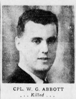 Sgt William Geoffrey Abbott Jr.