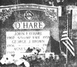 Agnes Teresa <I>O'Hare</I> Brown