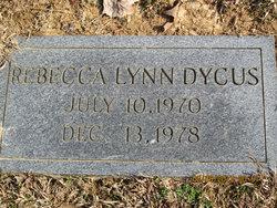 "Rebecca Lynn ""Becky"" Dycus"