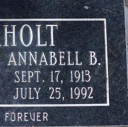 Blanche Annabelle <I>Hall</I> Rockholt
