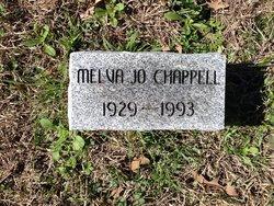 Melva Jo <I>Young</I> Chappell