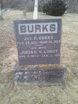 Juriah Virginia <I>Lundy</I> Burks