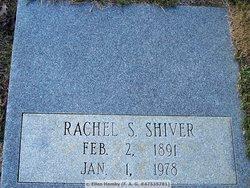Rachel <I>S</I> Shiver