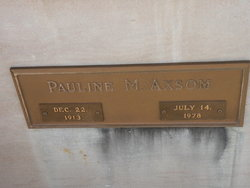 Pauline Marion <I>Gregory</I> Axsom