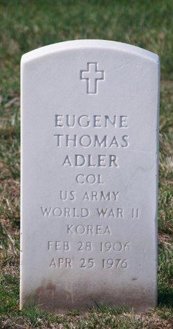 Eugene Thomas Adler