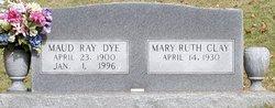 Maud <I>Little</I> Dye