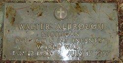 Walter Albrough