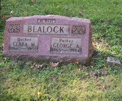 Clara Marie <I>Gilhousen</I> Blalock