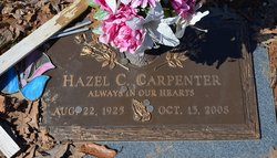 Hazel Cora <I>Milhoan</I> Carpenter