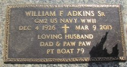 William Franklin Adkins, Sr