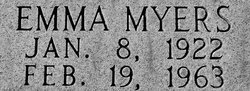 Emma Belle <I>Myers</I> Ashley