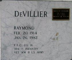 PFC Raymond DeVillier