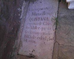 Mrs Maria Rosa <I>Quintana</I> Muller