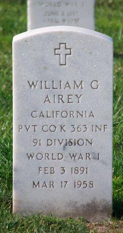 William G Airey