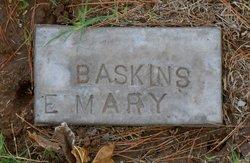 Mary Elizabeth <I>Flowers</I> Baskins
