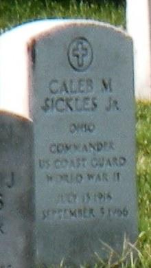 Caleb M Sickles, Jr.
