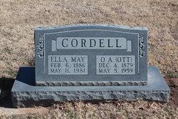 Ella May <I>Albin</I> Cordell