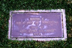 Ruth E Cubbage