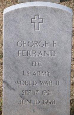 PFC George E Ferrand