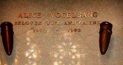 Alice <I>Blanc</I> Vogelsang