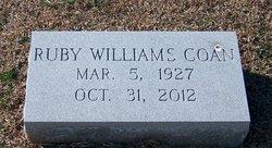 Ruby Rae <I>Williams</I> Coan