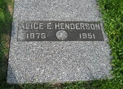Alice E. Henderson