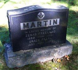 Zenas Freeland Martin