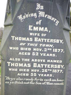 Emma <I>Butterfield</I> Battersby