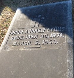 John Andrew Lyons