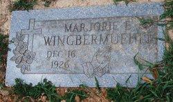Marjorie E <I>Yust</I> Wingbermuehle