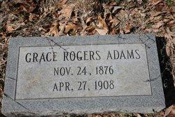 Grace <I>Rogers</I> Adams
