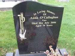 Anna <I>Molloy</I> O'Callaghan