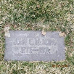 John Edwin Reading
