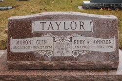 Ruby Ann <I>JOHNSON</I> Taylor
